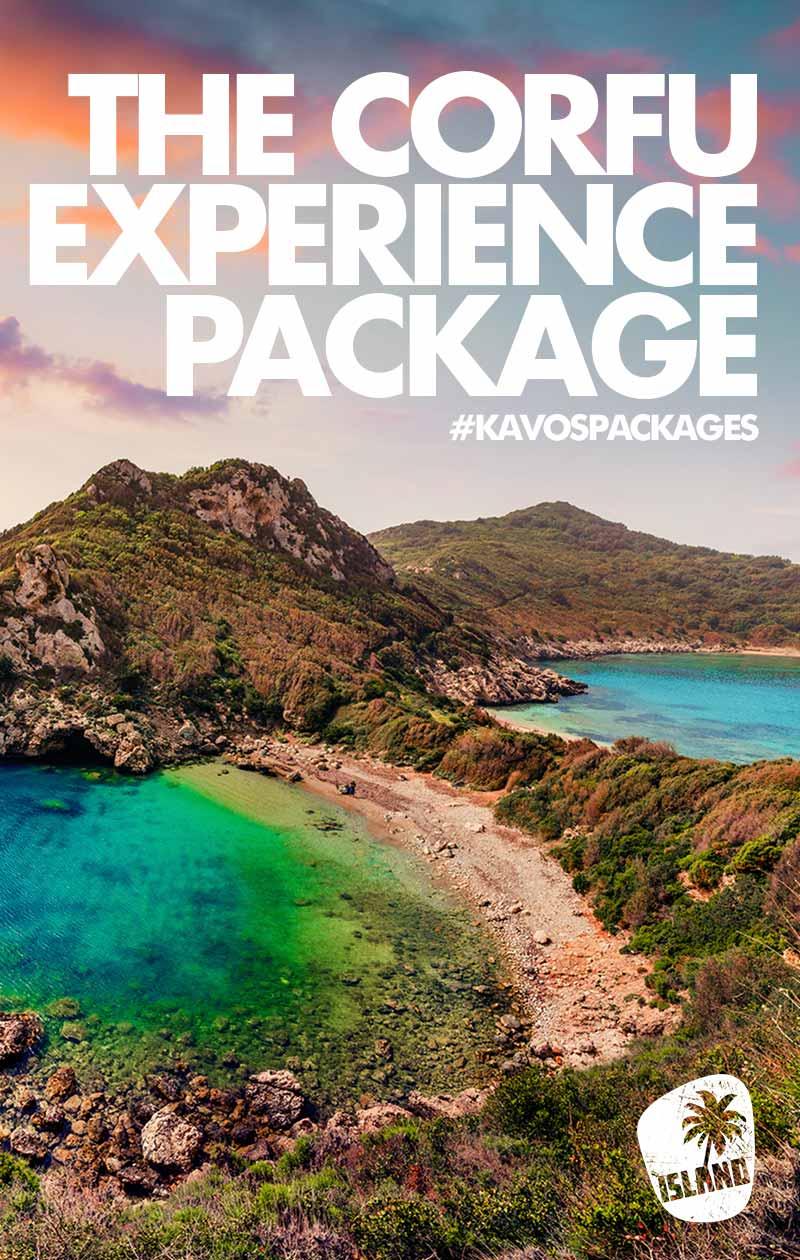 island kavos corfu experience package